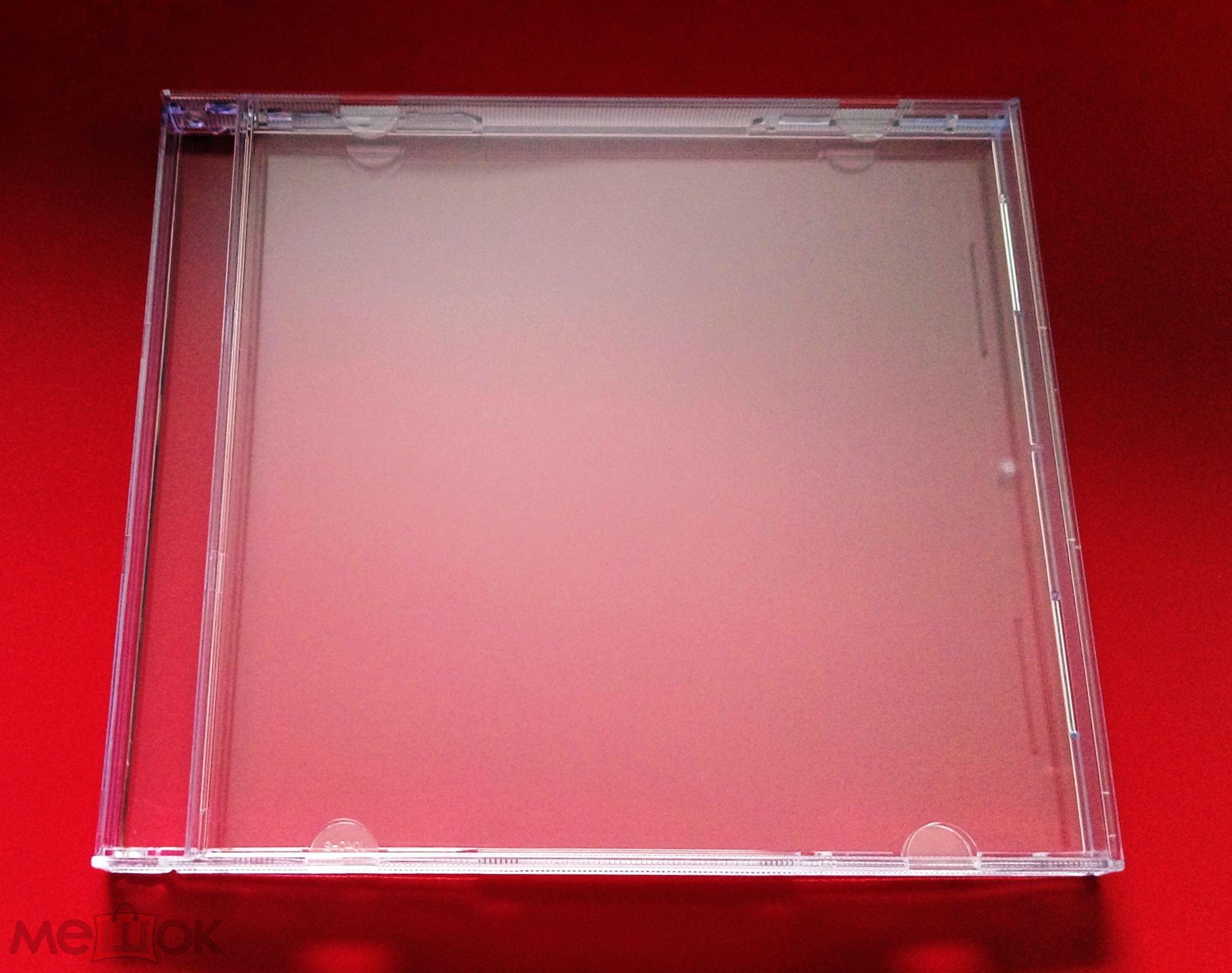 'АКСЕССУАРЫ^НОВЫЙ CD BOX ПРОЗРАЧНЫЙ БЕЗ TRAY=JEWEL CASE CLEAR футляр*бокс*трей*диск*коробка GERMANY