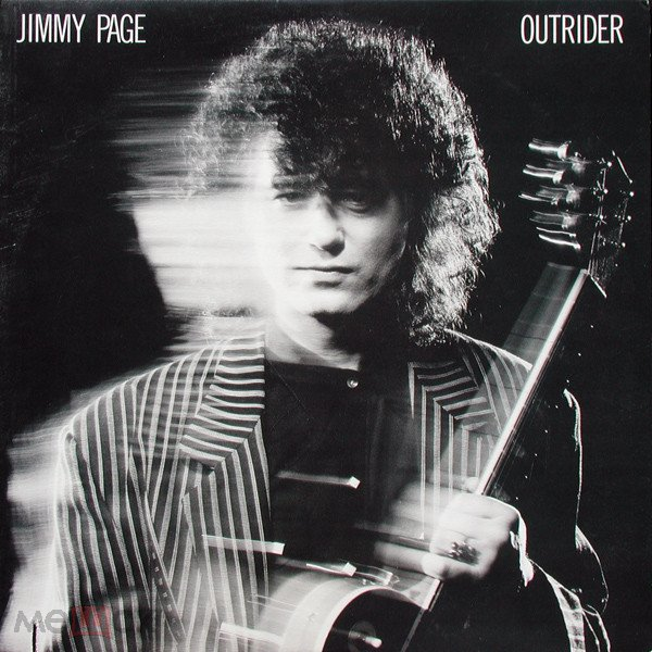 JIMMY PAGE (LED ZEPPELIN) 1988 OUTRIDER  /USA LP /EX+ /NM- ВИНИЛ