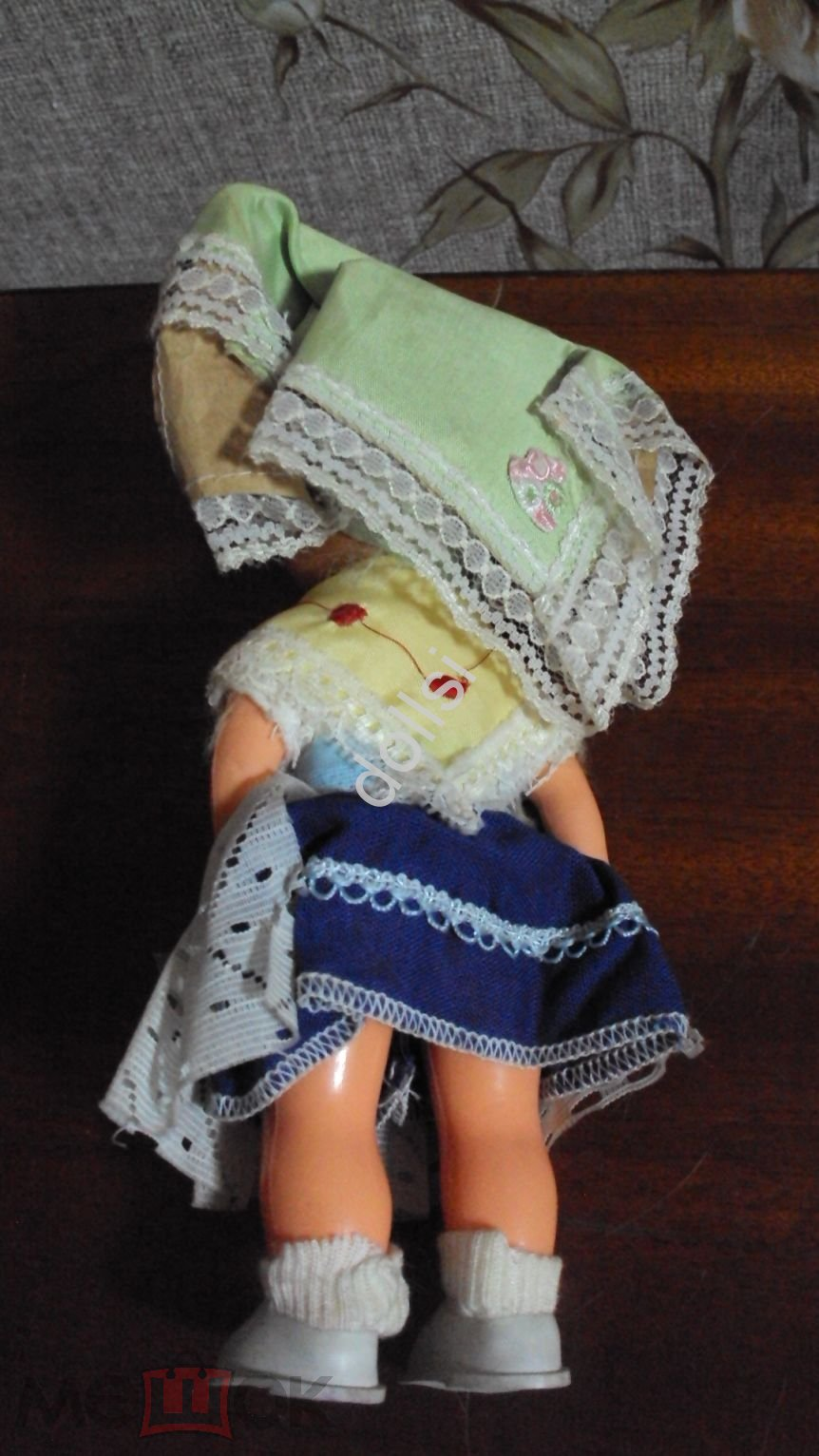 кукла ГДР рост 21 см