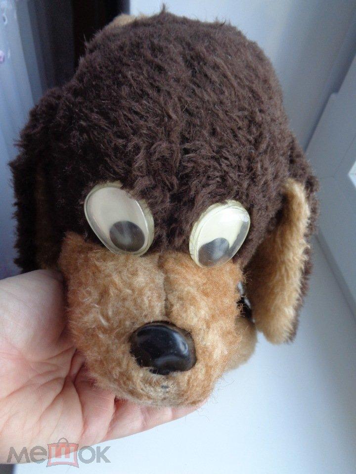 Собака, мягкая игрушка СССР