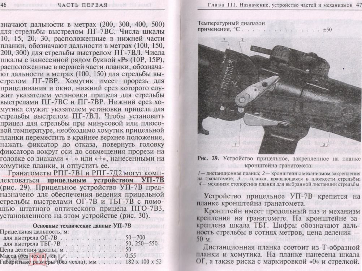 Прицельное устройство УП-7В для РПГ-7