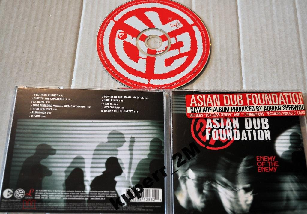 Are certainly Enemy of the enemy asian dub foundation