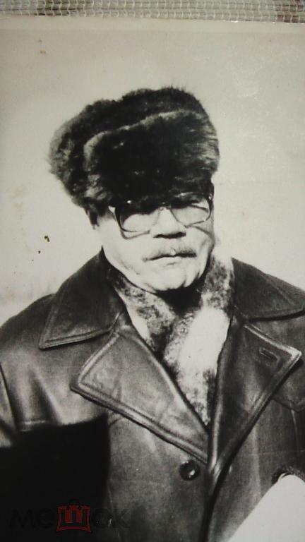 Фото артиста Пуговкина и Бориса Чиркова 1982 г.