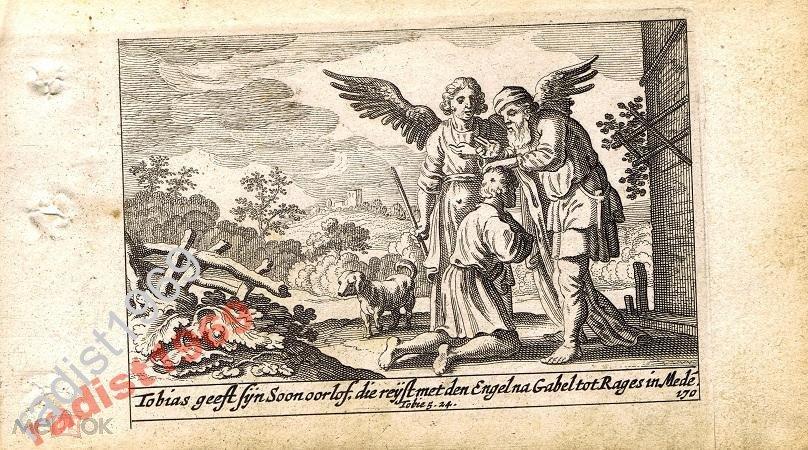 1659 г. БИБЛЕЙСКАЯ ИСТОРИЯ. ТОВИТ ОТПРАВЛЯЕТ СЫНА