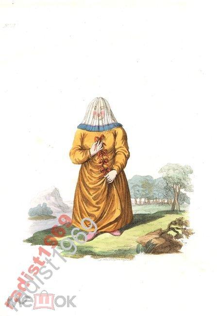 1803 г ОСТЯЧКА. ОСТЯКИ. ХАНТЫ. СЕЛЬКУПЫ. ЮГИ. КЕТЫ