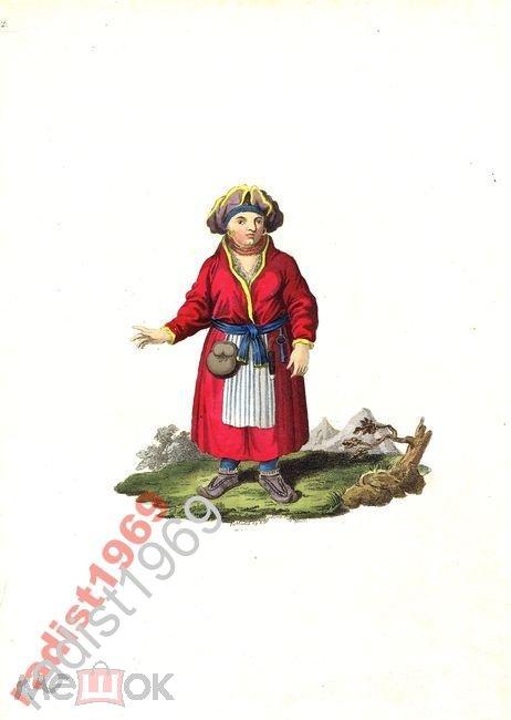 1803 г. ЛАПЛАНДКА. ЛАПЛАНДЦЫ. ЛАПЛАНДЕЦ. КОСТЮМ