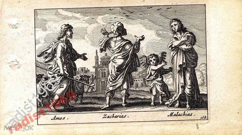 1659 г. БИБЛЕЙСКАЯ ИСТОРИЯ. АМОС, ЗАХАРИЯ, МАЛАХИЯ