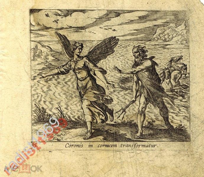 1606 г. ТЕМПЕСТА. МЕТАМОРФОЗЫ. КОРОНИДА - ВОРОН