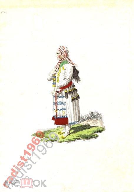 1803 г.  МОРДОВКА. МОРДВА. МОРДОВЦЫ. МОРДВИНЫ