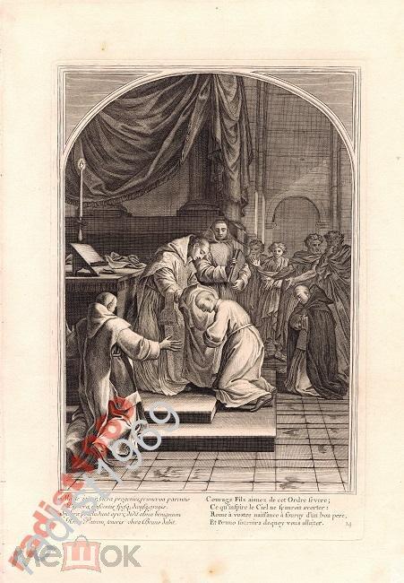 Ок 1660 (1802) г СВЯТОЙ БРУНО. ПОСВЯЩЕНИЕ В МОНАХИ