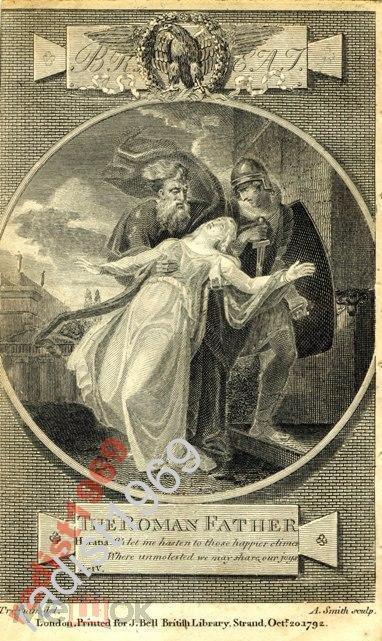 1792 г. БРИТАНСКИЙ ТЕАТР. РИМСКИЙ ПАПА. АКТ V