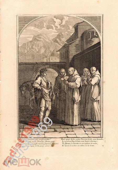 1660 (1802) СВЯТОЙ БРУНО ЧИТАЕТ ПИСЬМО ОТ УРБАНА 2