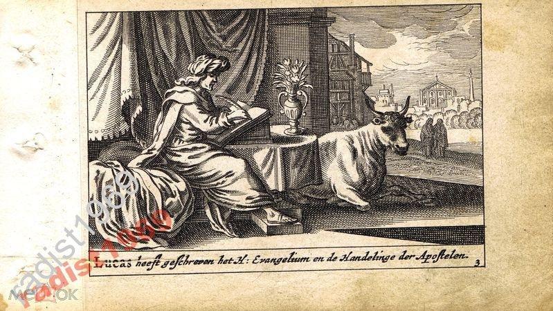 1659 г. БИБЛЕЙСКАЯ ИСТОРИЯ. СВЯТОЙ АПОСТОЛ ЛУКА