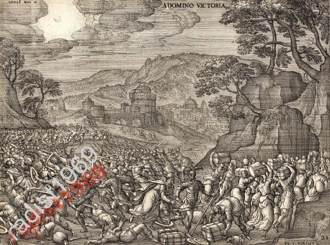 1581 г. ПИТЕР ВАН ДЕР БОРХТ. ПОБЕДА ОТ ГОСПОДА