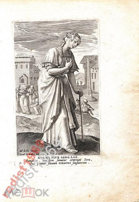 Ок. 1594 г. ЖЕНЩИНЫ НОВОГО ЗАВЕТА. КРОВОТЕЧЕНИЕ