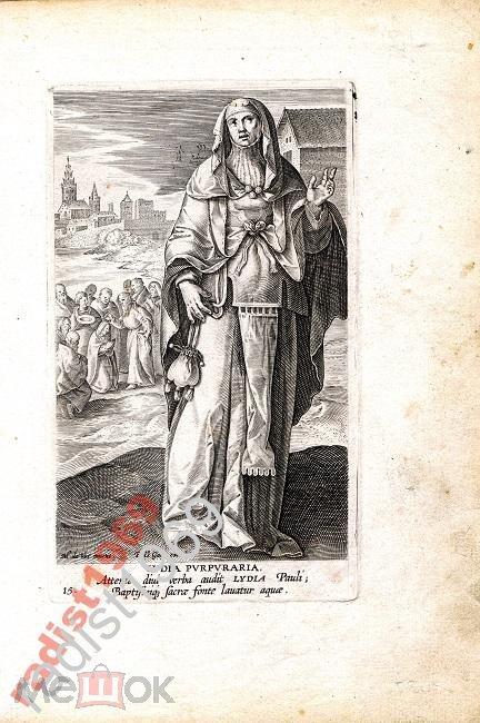 Ок. 1594 г. ЖЕНЩИНЫ НОВОГО ЗАВЕТА. ТОРГОВКА ЛИДИЯ