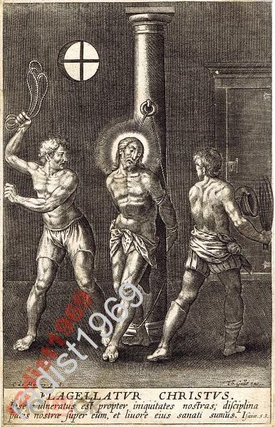 Ок. 1600 г. БИЧЕВАНИЕ ХРИСТА. ВАН МАЛЛЕРИ