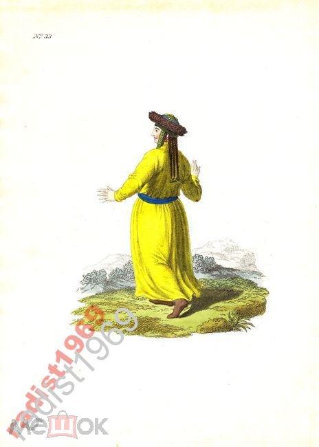 1803 ТЕЛЕУТСКАЯ ТАТАРКА. ТАТАРЫ. ТЕЛЕУТЫ. КЕМЕРОВО