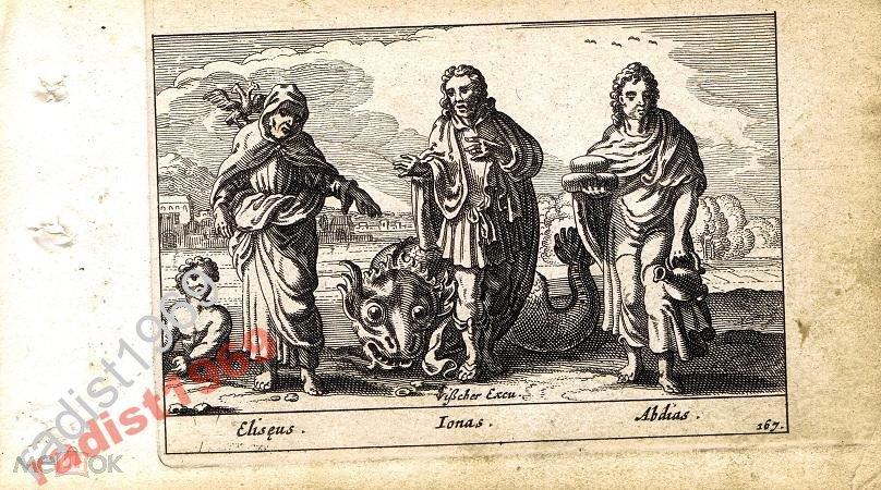 1659 г. БИБЛЕЙСКАЯ ИСТОРИЯ. ЕЛИСЕЙ, ИОНА и АВДИЙ