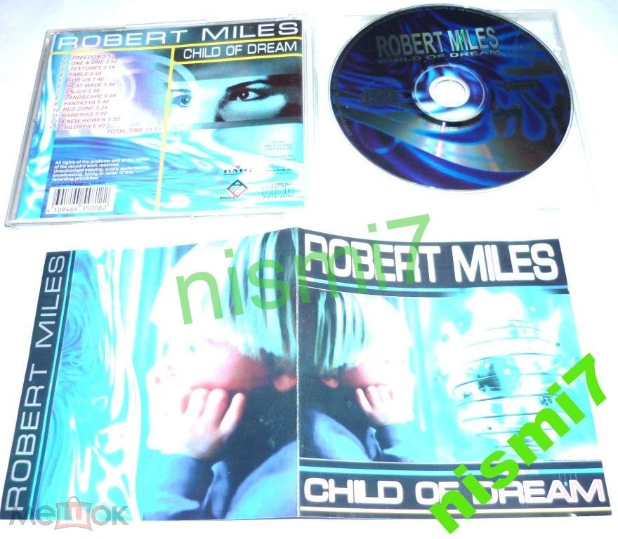 Robert Miles Child of Dream, 2001, ,Made in the EU