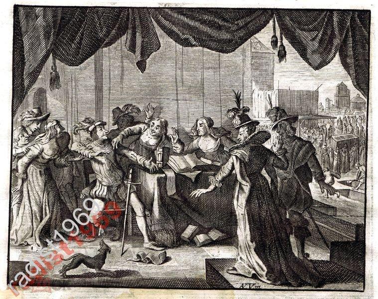 Ок. 1630 (1700) г. КАТС. СПОР И ОТДЫХ НА СЕНОКОСЕ