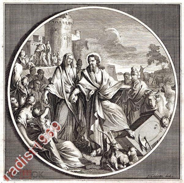 Ок. 1700 г. ЯН ГУРЕ. ПРОПОВЕДЬ ИИСУСА 2. БИБЛИЯ