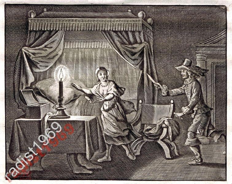 Ок. 1630 (1700) г. ДЕ ВЕННЕ. НАПАДЕНИЕ В СПАЛЬНЕ