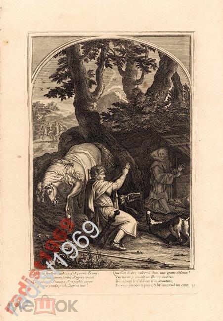 Ок. 1660 (1802) г. СВЯТОЙ БРУНО И ГРАФ РОДЖЕРЕ