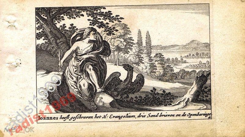 1659 г. БИБЛЕЙСКАЯ ИСТОРИЯ. СВЯТОЙ АПОСТОЛ ИОАНН