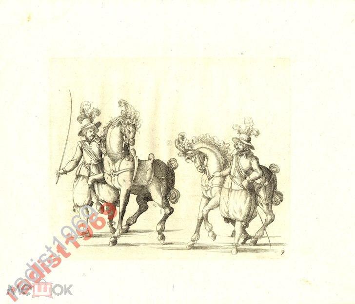 1611 г `ИГРЫ РЫЦАРЕЙ` КЮХЛЕР. ТРЕНИРОВКА ЛОШАДЕЙ 2