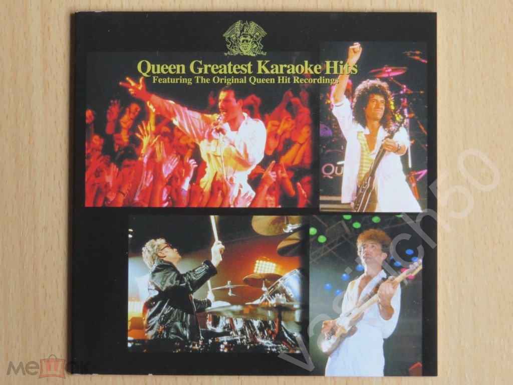 QUEEN – Queen Greatest Karaoke Hits (Japan 2CD)