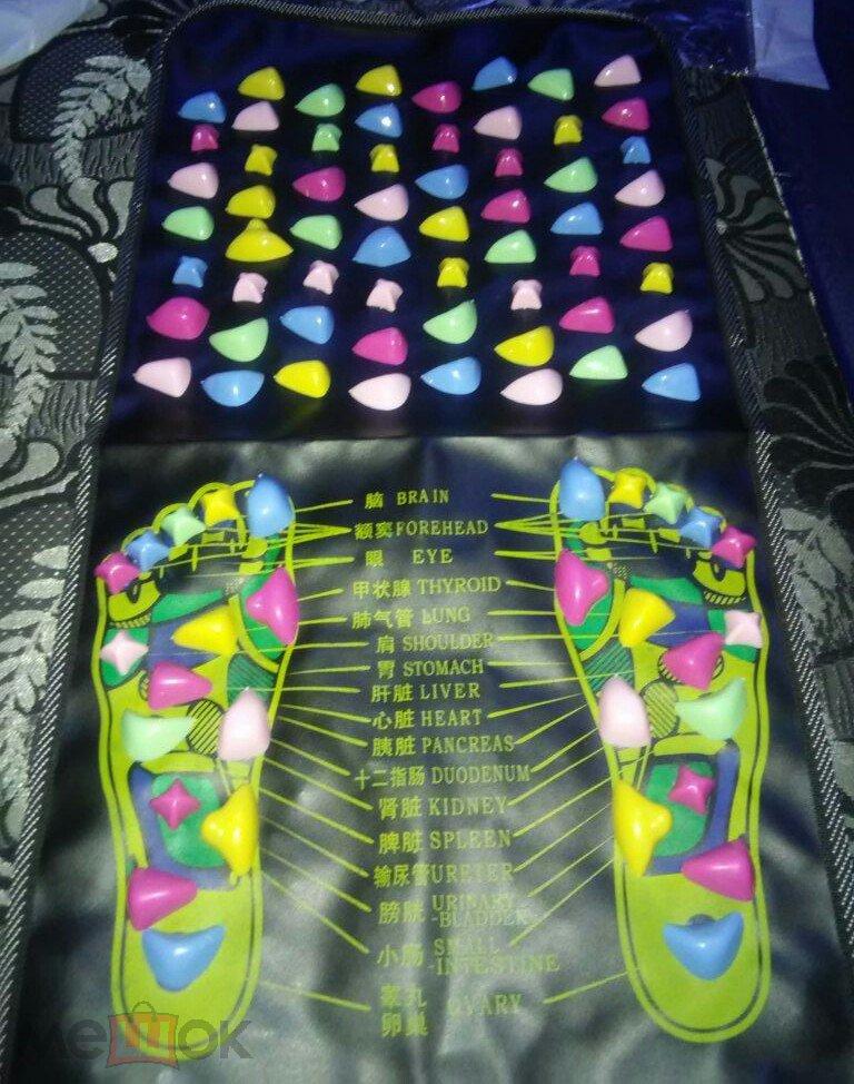 Массажная дорожка коврик с камнями (Massage road)