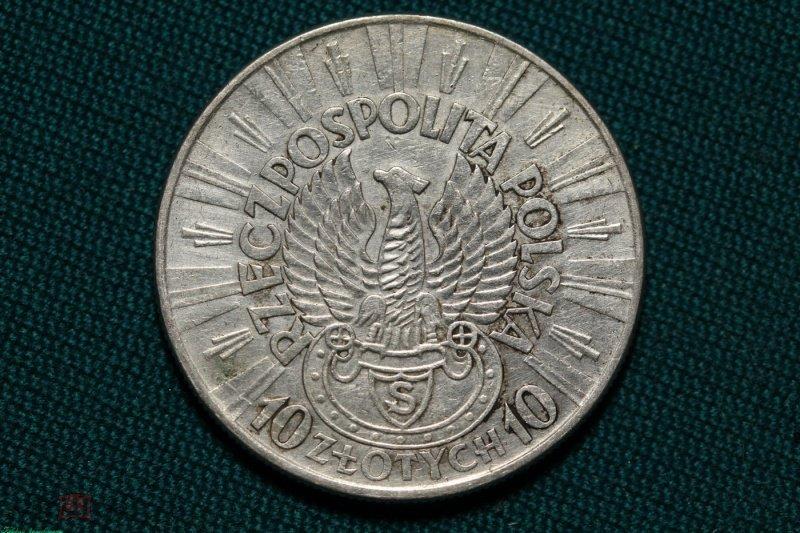 Стоимость монеты 10 злотых 1934г легионер цены на золотые монеты