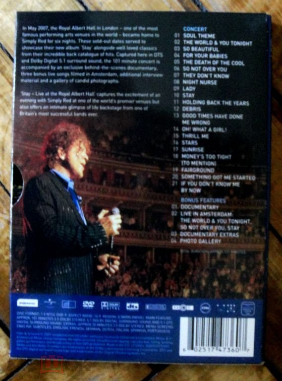 simply red stay songs