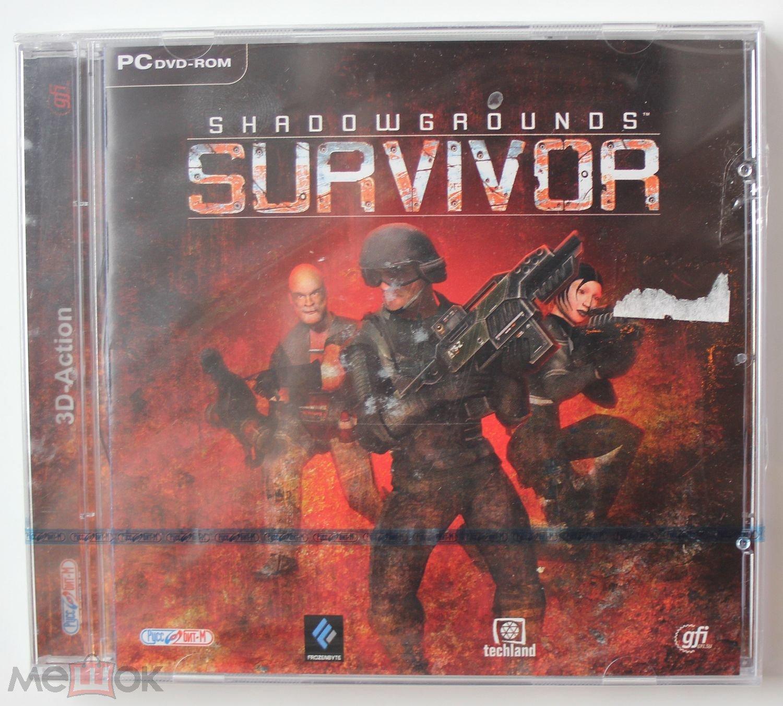 Shadowgrounds Survivor (лицензия, новый в пленке)