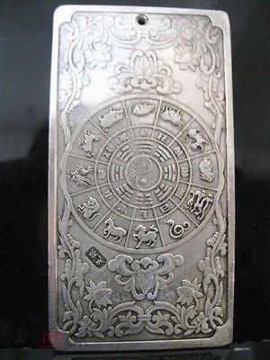 Танка Тибет древний Китай Священная Корова тибетское серебро