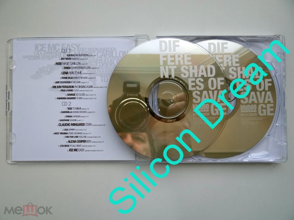 CD Savage  - Different Shades of Savage 2011 2CD Poland