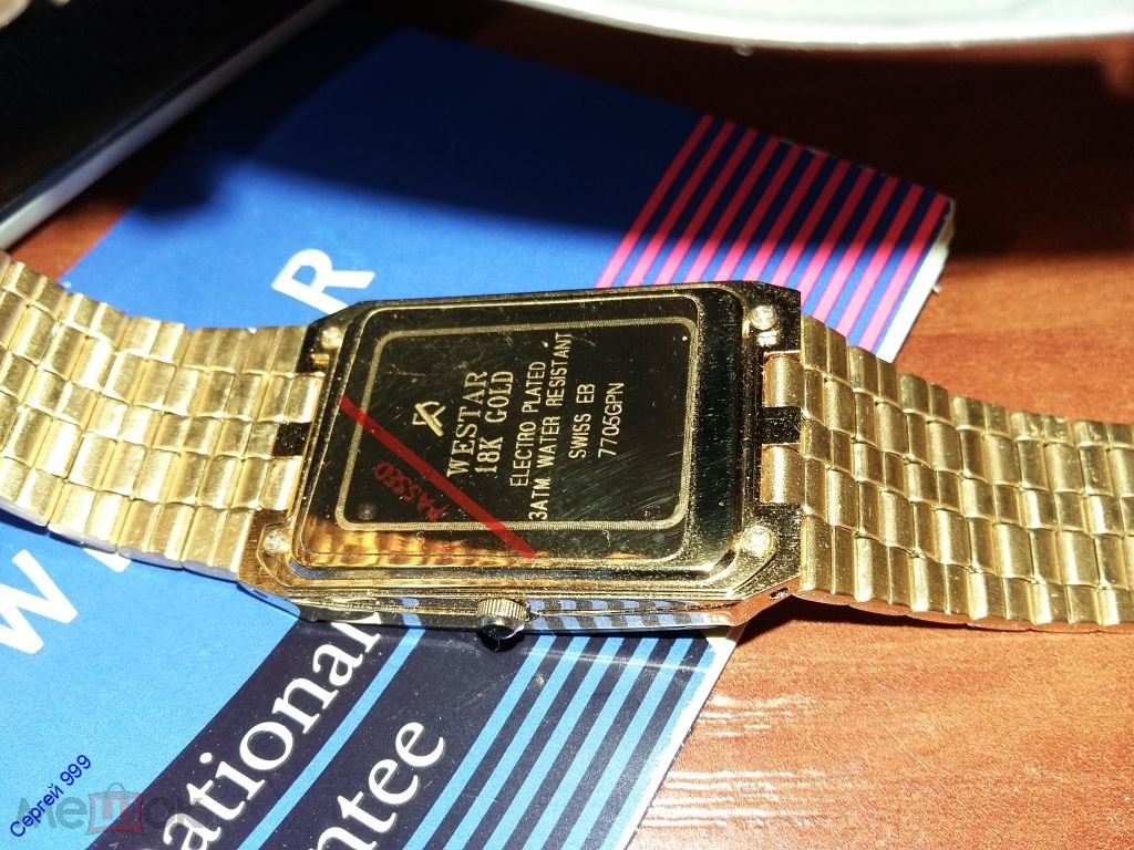 1f4f6eaa Коллекционные , Швейцарские часы Westar 60 лет Кобзону И.Д. оригинал ...