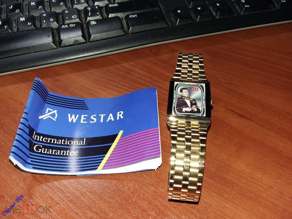 cb7461ed Коллекционные , Швейцарские часы Westar 60 лет Кобзону И.Д. оригинал ...
