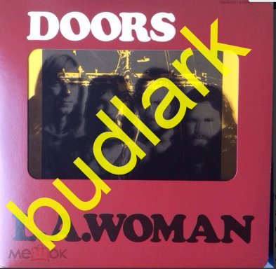 The Doors – L.A. Woman   180 Gramm Deluxe Limited Edition, Diacover, Embossed    Germany   (Sealed)