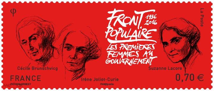2016 Франция 6478 Первые женщины в правительстве