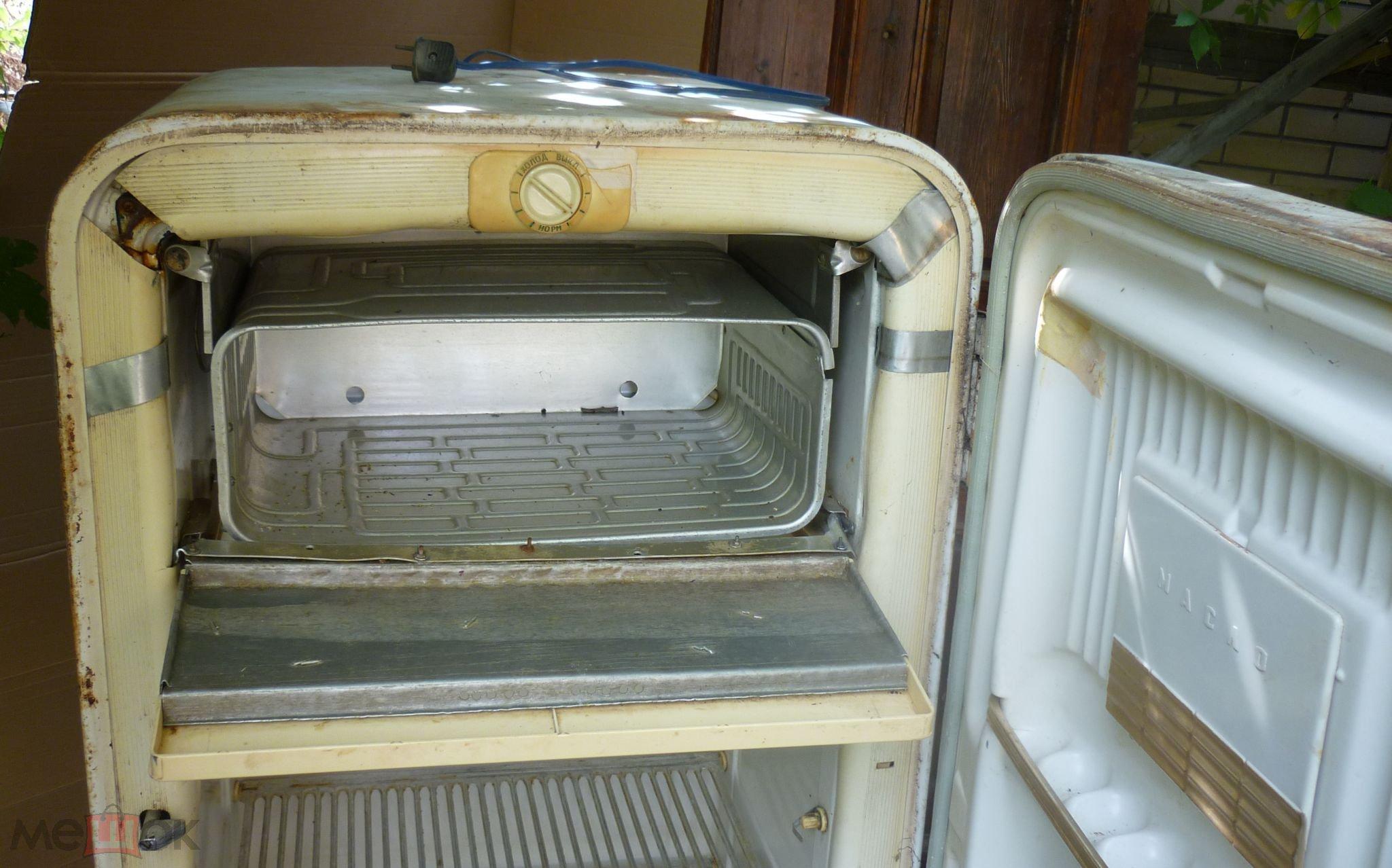 винтажный холодильник зил москва 60 екх 240ссср
