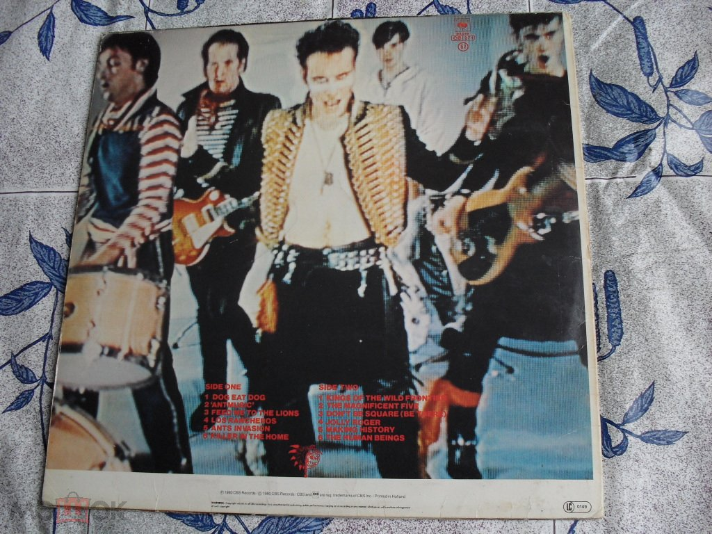 ADAM AND THE ANTS  kings of the wild frontier 1980