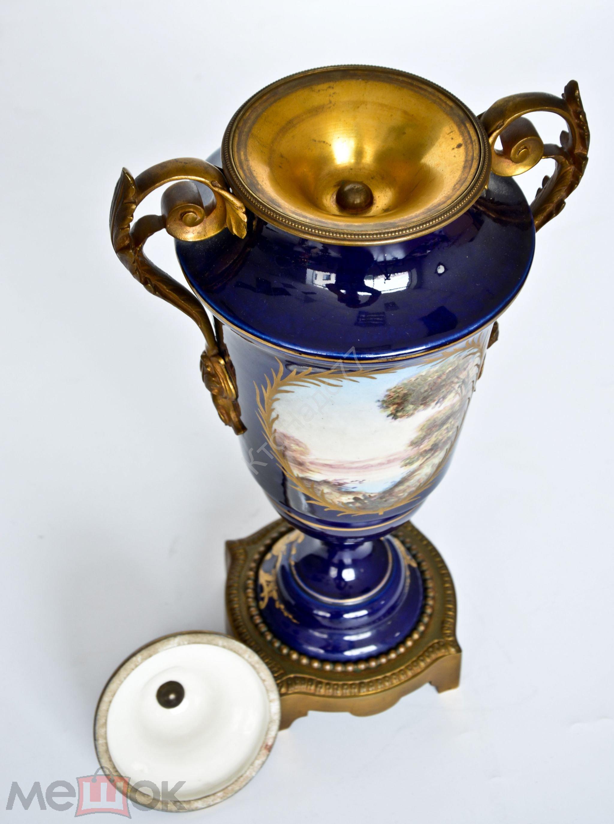 Интерьерная ваза-кубок «Sospirante».12Бо0058