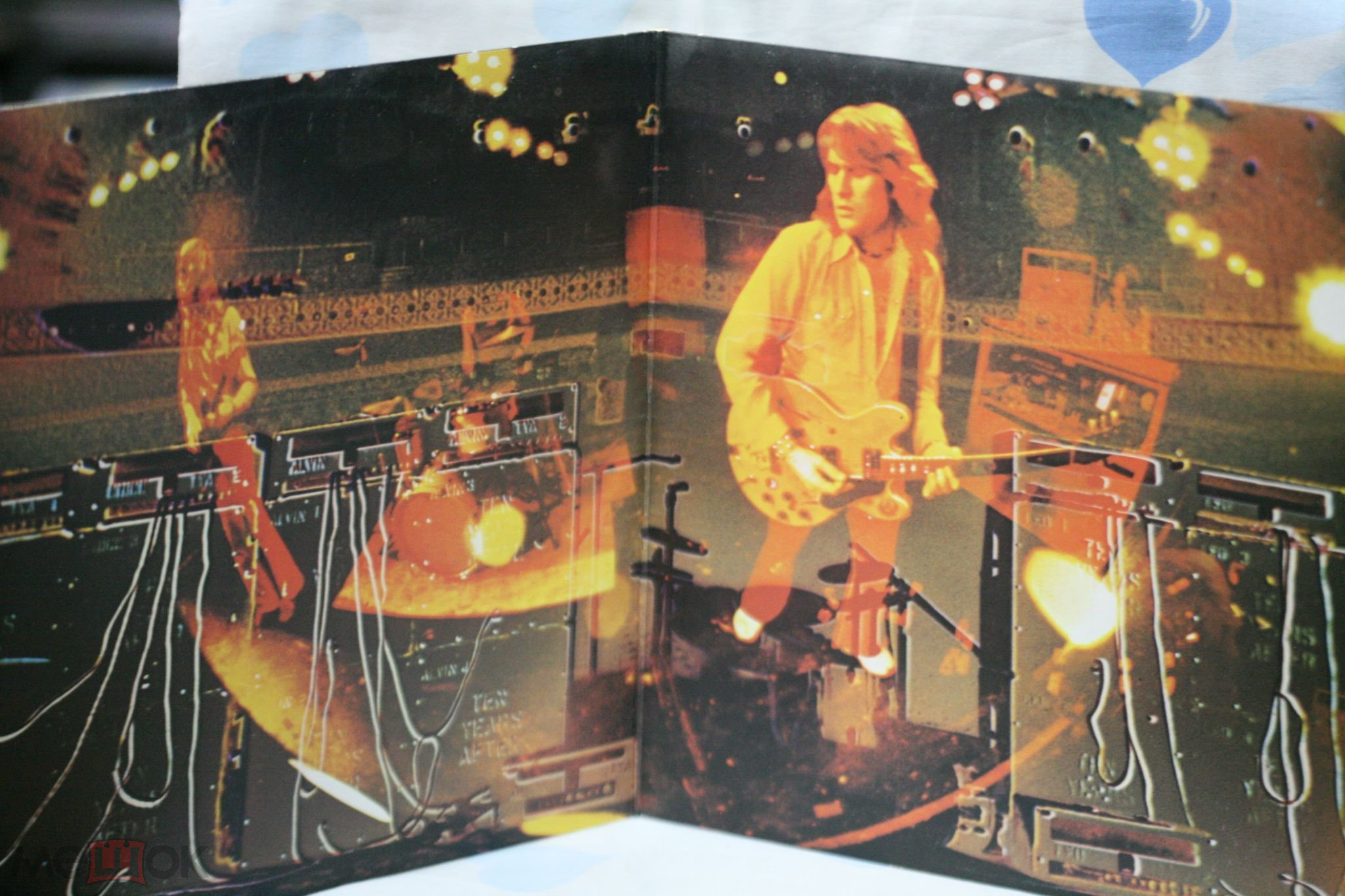 "TEN YEARS AFTER ""RECORDED LIVE""  2LP 1973 ENGLAND"