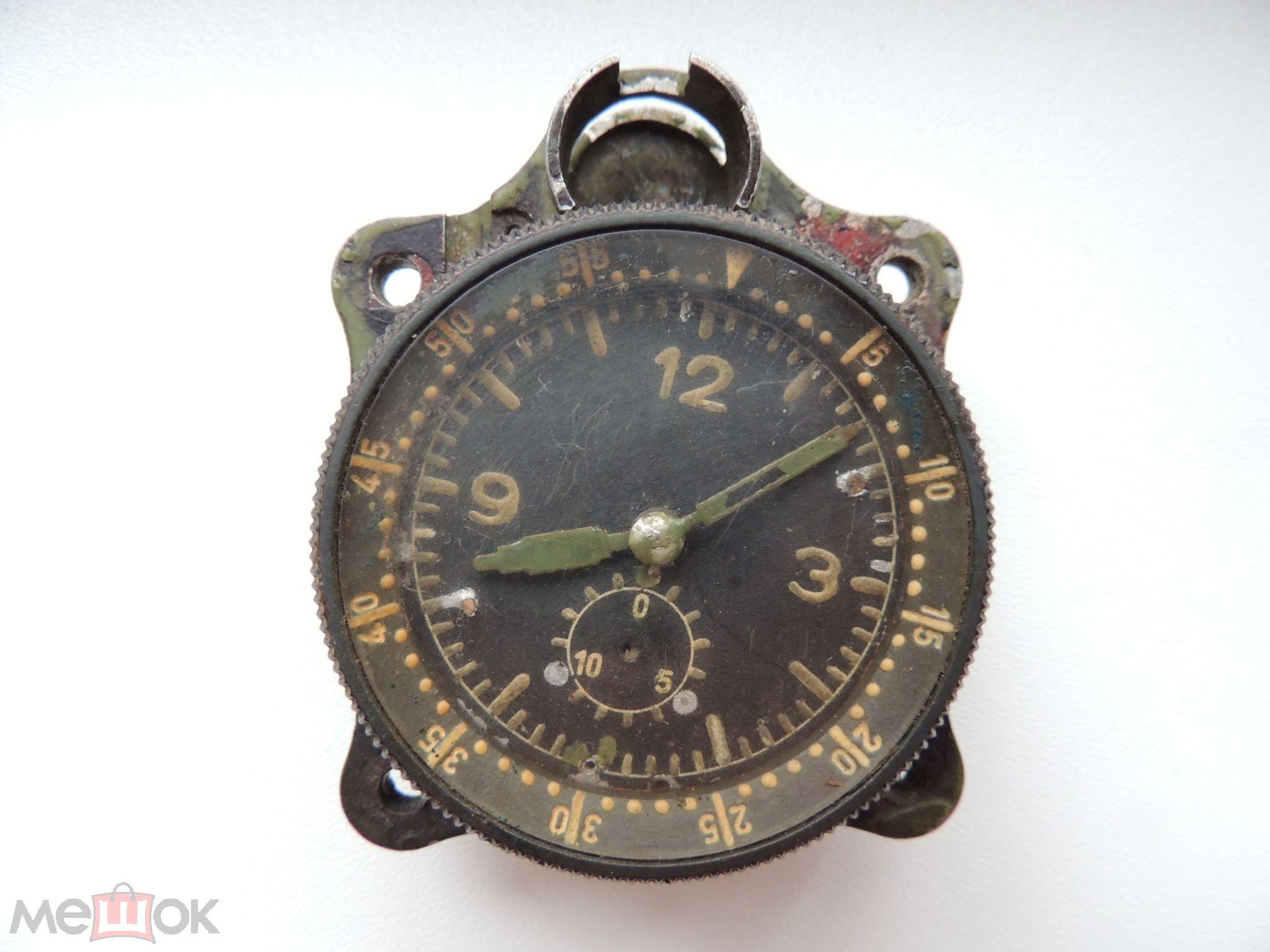 7de743e28 Авиационные часы Junghans J30BZ . бортовые часы . 3 рейх . 2 мировая ...