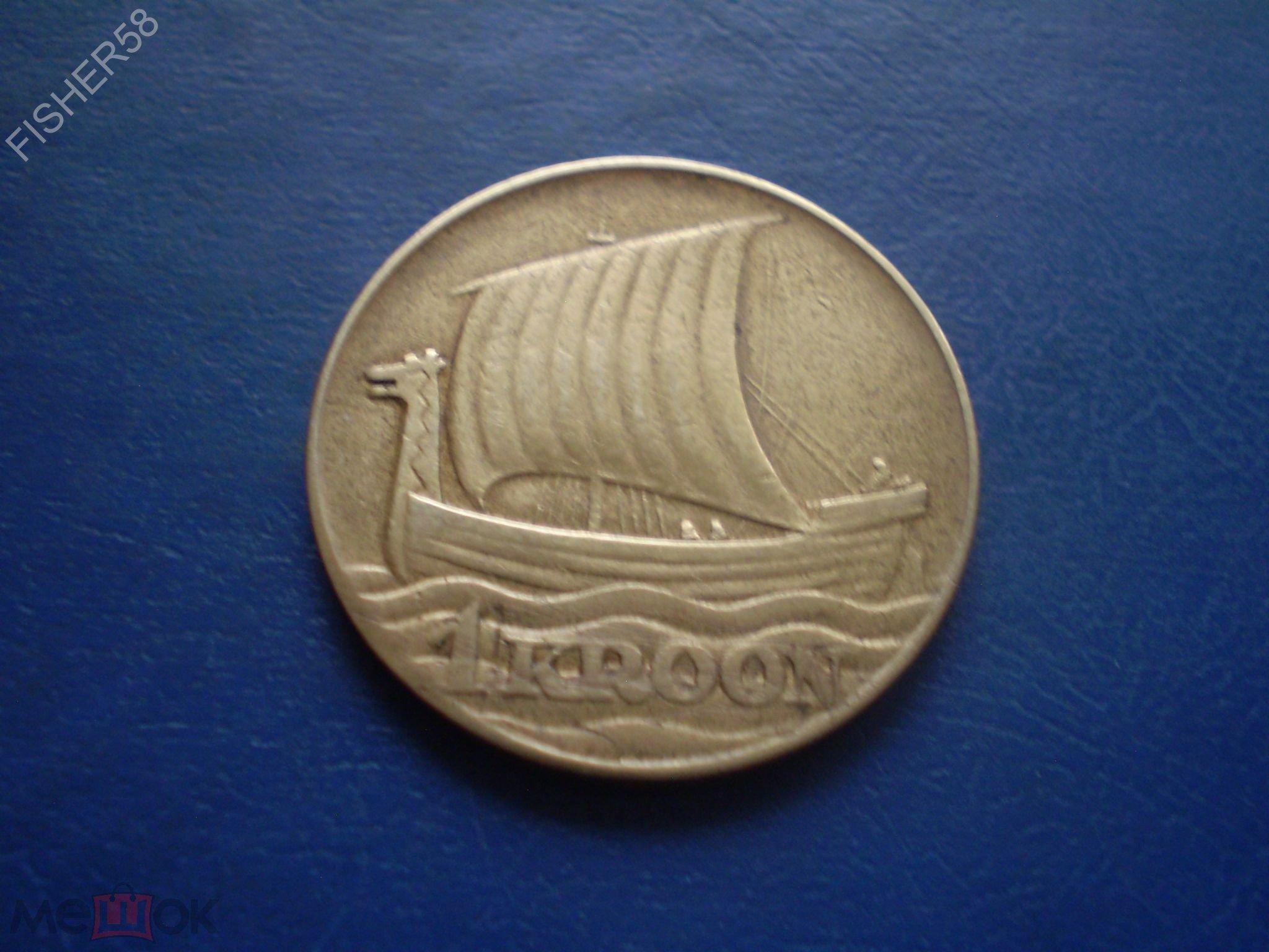 Эстонская 1крона 1934г цена за монету юбилейные монеты 2 евро цена