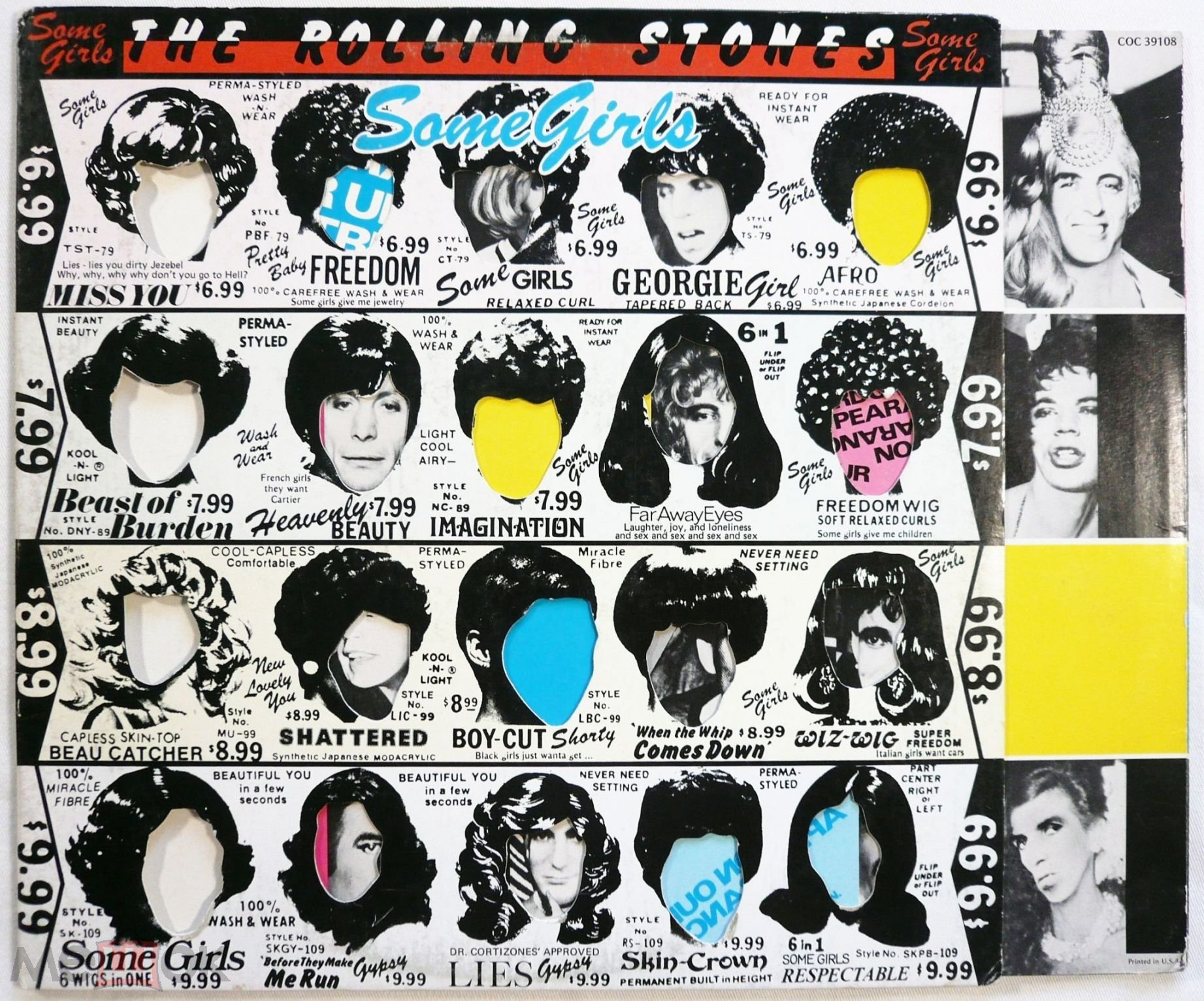 Rolling stones-some girls photos 88