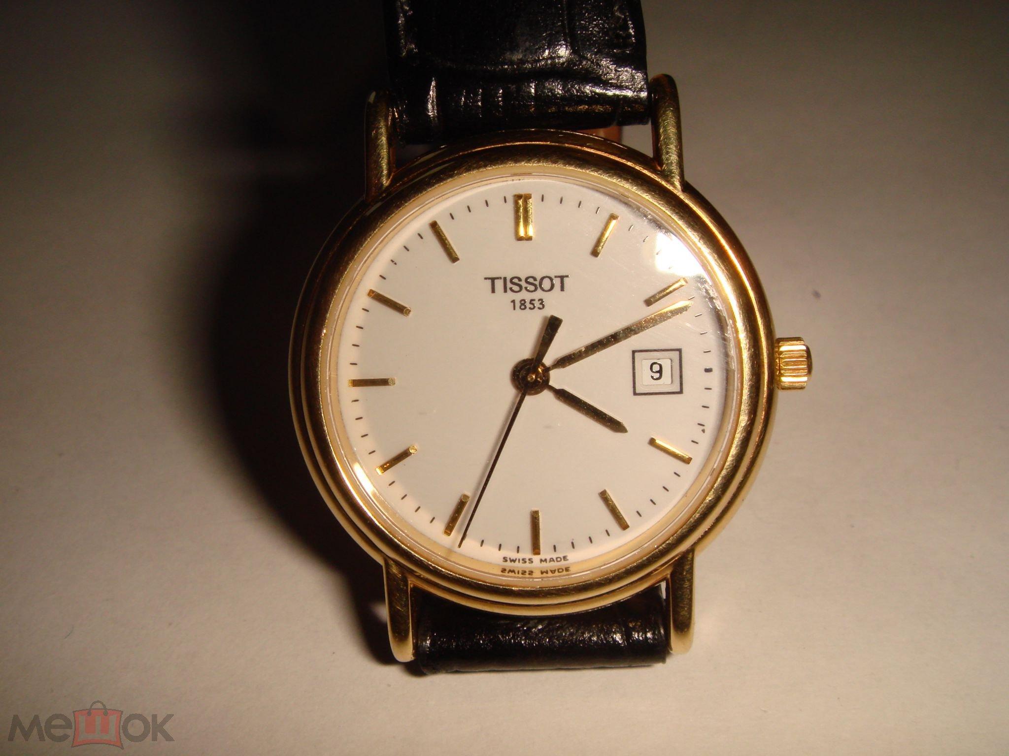 Золотые часы Tissot T-Gold