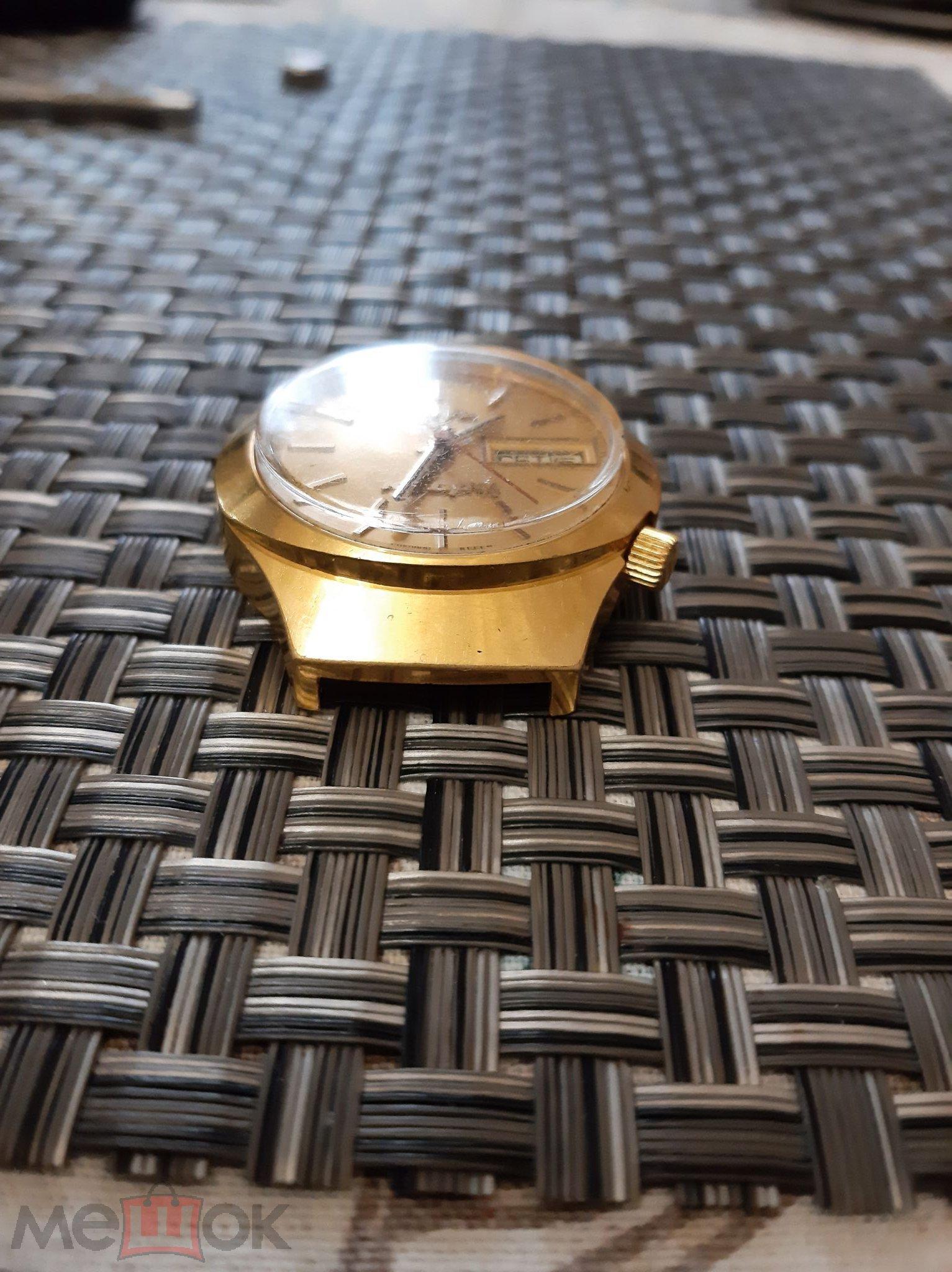 Часы Луч Кварц электронно - механические СОХРАН.Обслужены